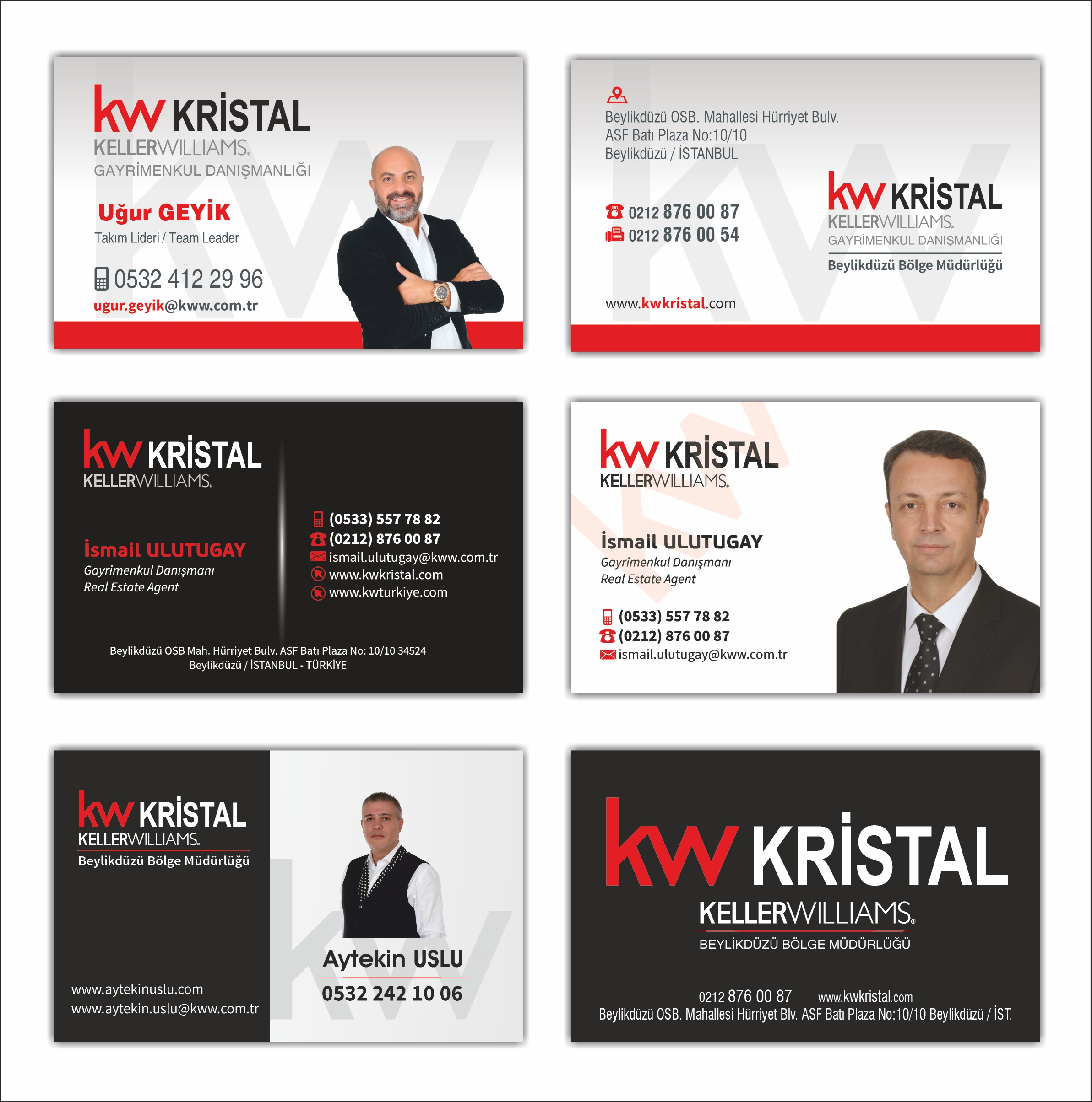 KW KELLER WILLIAMS KARTVİZİT 1000 ADET